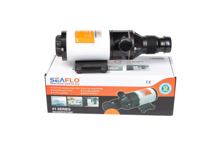 Помпа мацераторная SeaFlo, 45 л/мин, 24V