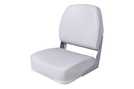 Кресло складное алюминиевое с мягкими накладками, белый