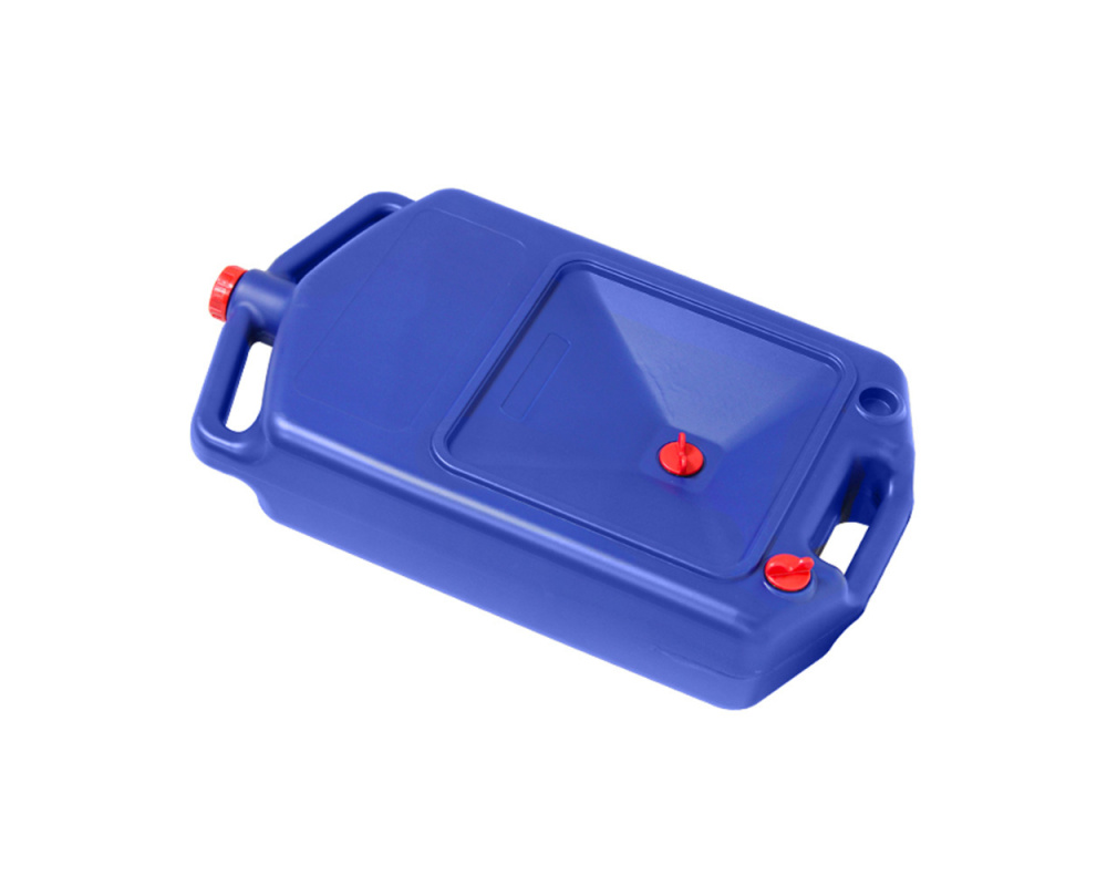 Канистра для слива масла 8л., цвет синий Sledex
