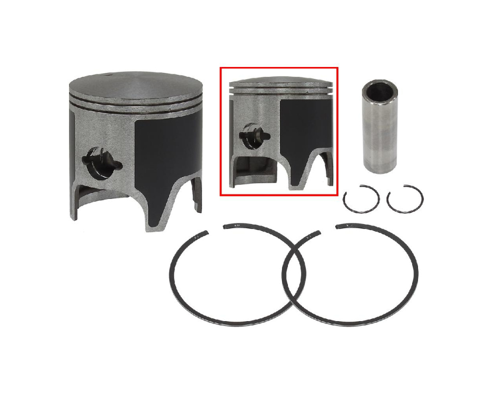 Поршень в сборе с кольцами T-Moly стандарт Sledex для Yamaha