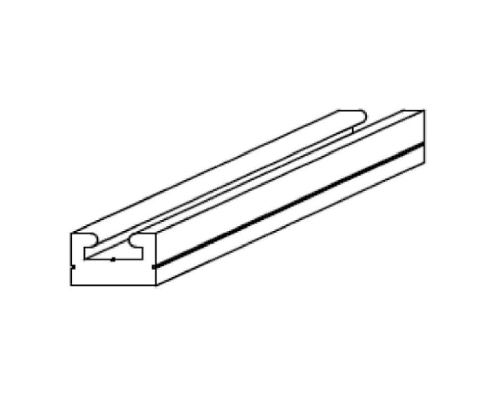 Защитные накладки на тоннель Sledex для Polaris TITAN 155 \'18-\'21