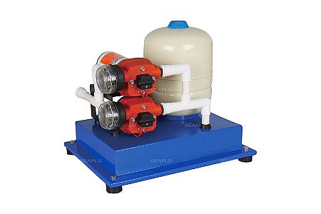 Помпа водоподающая с аккумулирующим баком SeaFlo, 25 л/мин, 2.4BAR, 12V