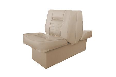 Кресло спаренное пластиковое с мягкой обшивкой, песочный