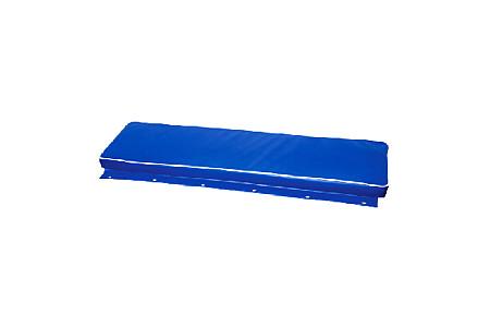 Накладка на сиденье лодки ПВХ мягкая, синий
