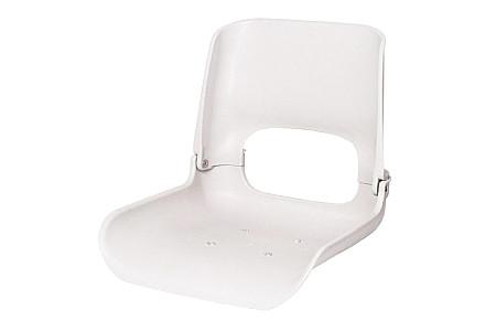 Кресло складное пластиковое, белый