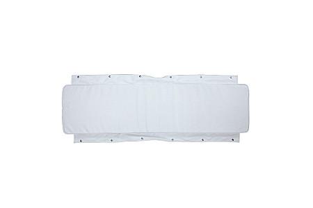 Накладка на сиденье лодки ПВХ мягкая, белый