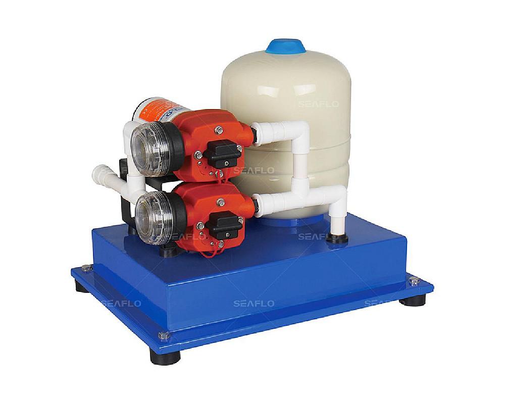Помпа водоподающая с аккумулирующим баком SeaFlo, 25 л/мин, 2.4BAR, 24V