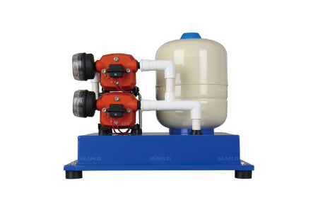 Помпа водоподающая с аккумулирующим баком SeaFlo, 34 л/мин, 2.8BAR, 24V