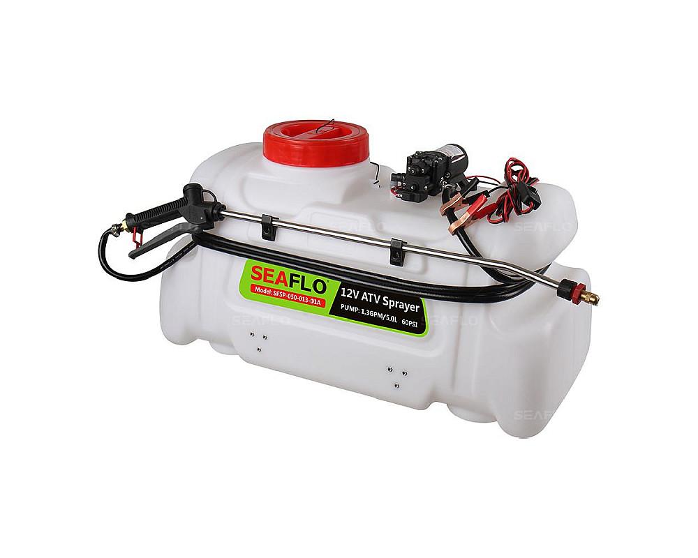 Опрыскиватель для квадроцикла SeaFlo, 1.3GPM, 80PSI, 12V