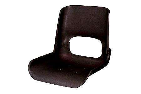 Кресло складное пластиковое, черный