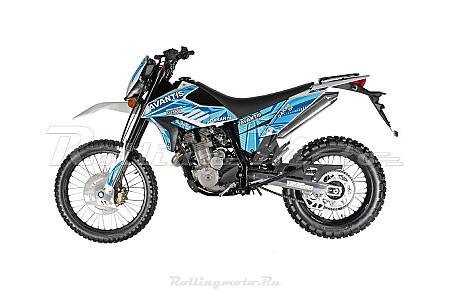 Мотоцикл Avantis Dakar 250 (TwinCam 170 MM, вод.охл.) FA 2020