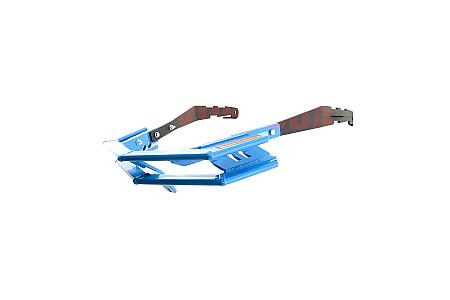 Бампер передний усиленный (бумеранг) для снегоходов Polaris (Платформа Axys 2016-*)